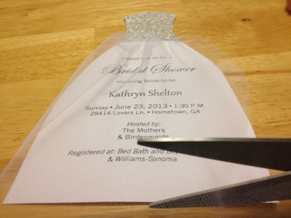 How To Diy Bridal Shower Invitations We Tie The Knots We Tie The